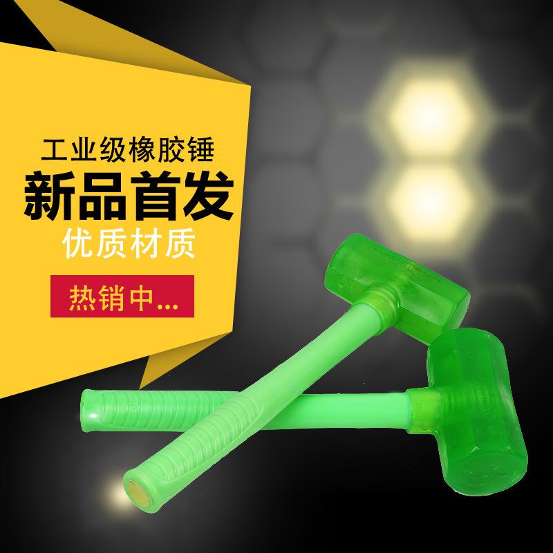 Прозрачный восьмиугольный пластиковые ручки резина молоток мышца молоток деревянная ручка резина эластичность установка молоток ластик пальма глава установка молоток