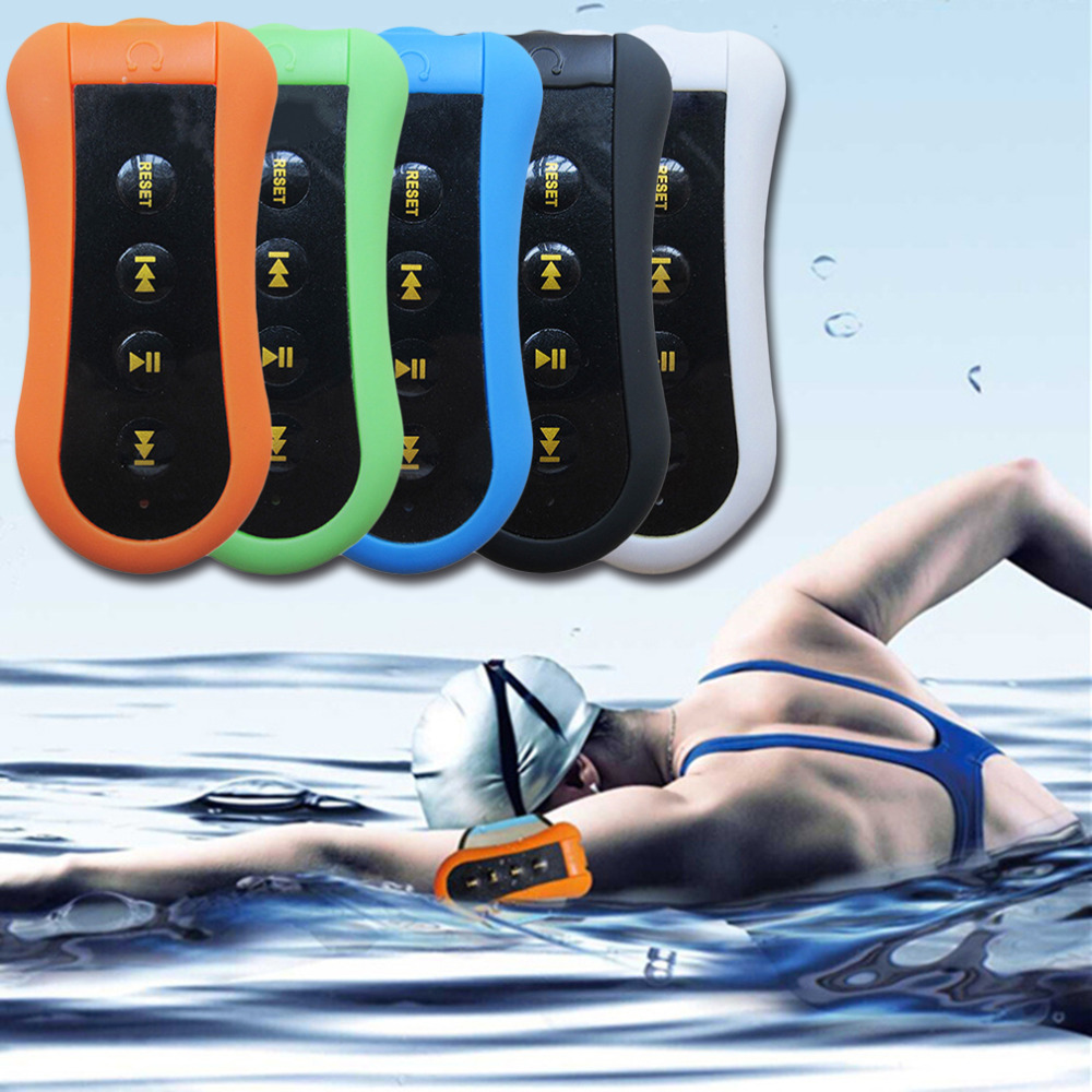 Fashionable Waterproof MP3 Music Player Sport Swimming Divin