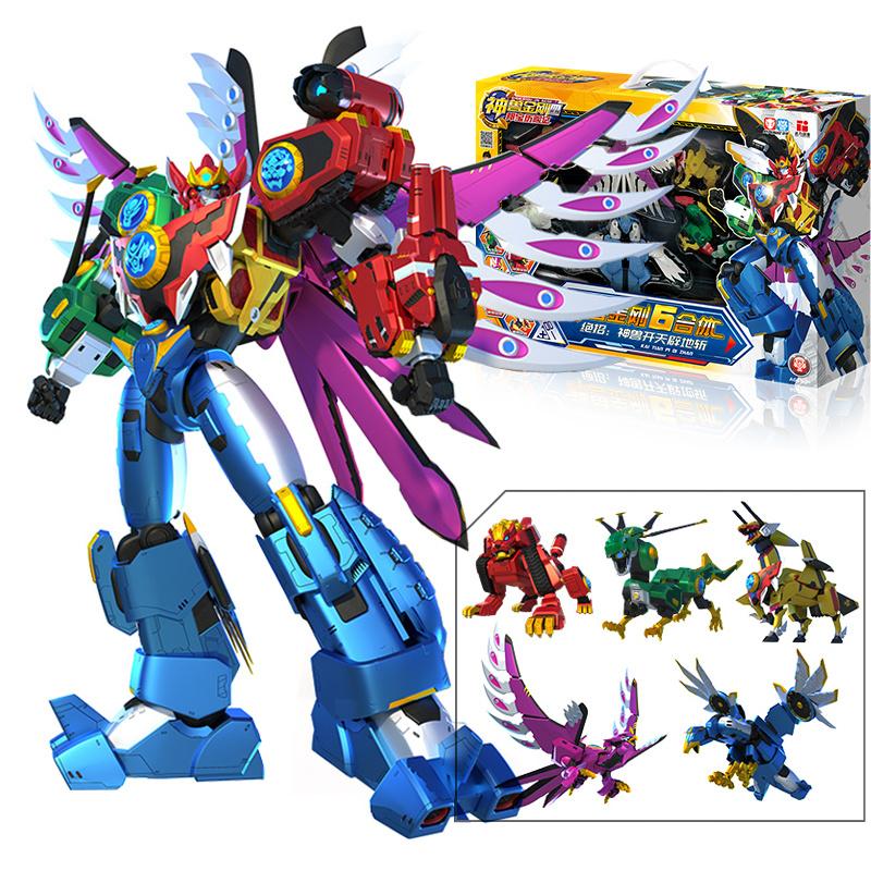 正版神兽金刚4之邦宝6机器人玩具评价如何