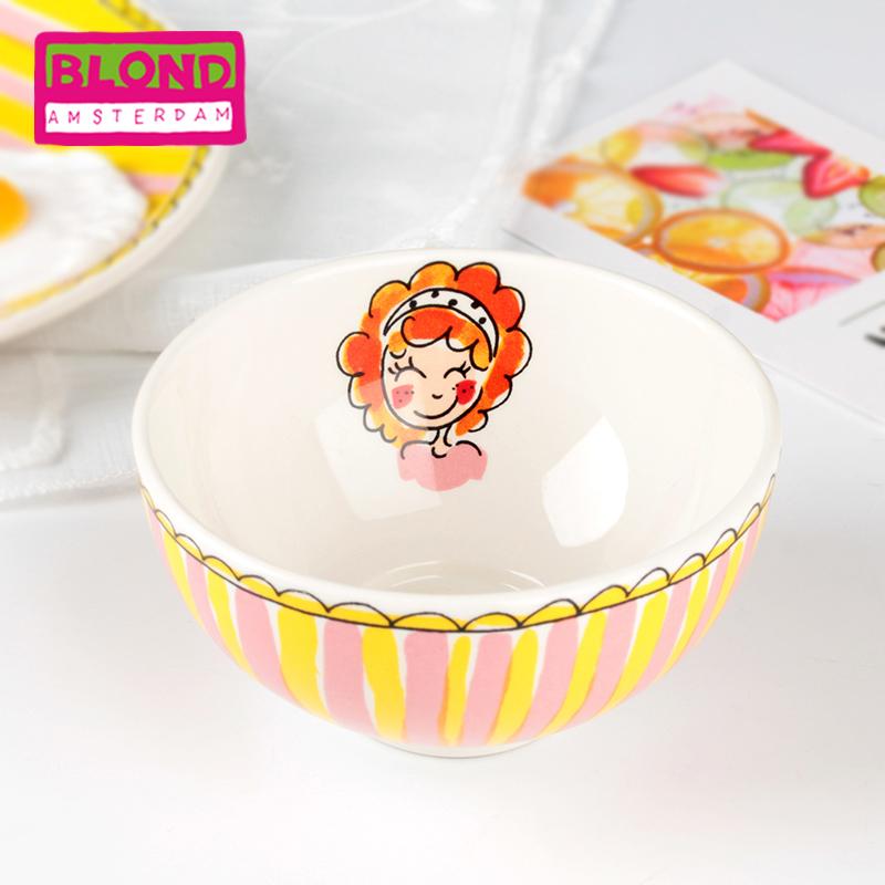 Blond陶瓷餐具小号创意可爱一人食早餐碗学生吃饭家用可爱碗套装
