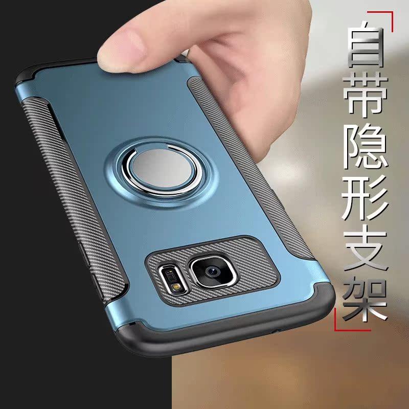三星S7手机壳软s7edge保护套galaxy防摔G9350曲屏全包g9300男女款