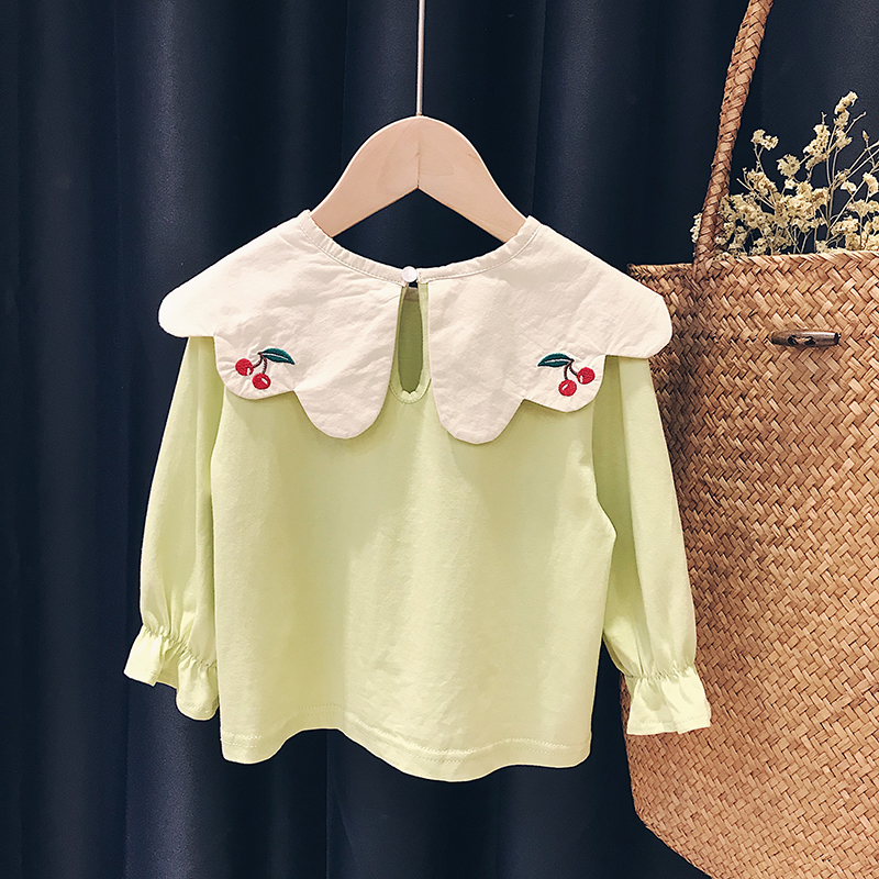 Snoopy / Snoopy baby long sleeve T-shirt girls Korean version 2020 new spring and autumn children's clothes