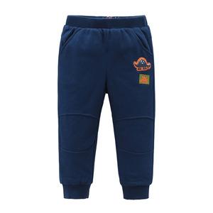 派克兰帝男童儿童小童夹棉长裤童装外穿运动棉裤2-6岁秋冬