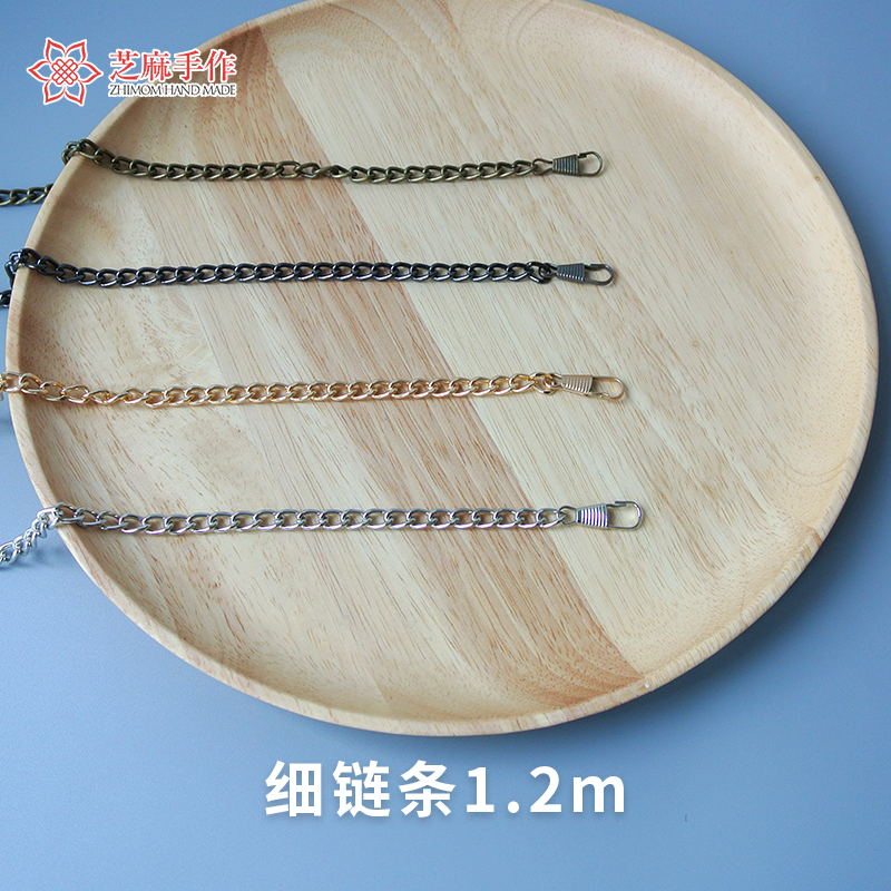 Sesame hand made fine 1.2m chains, hand accessories, chains and metal chains