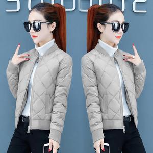 短款小个子棉袄女装2020年冬季新款轻薄羽绒棉服女士修身棉衣外套