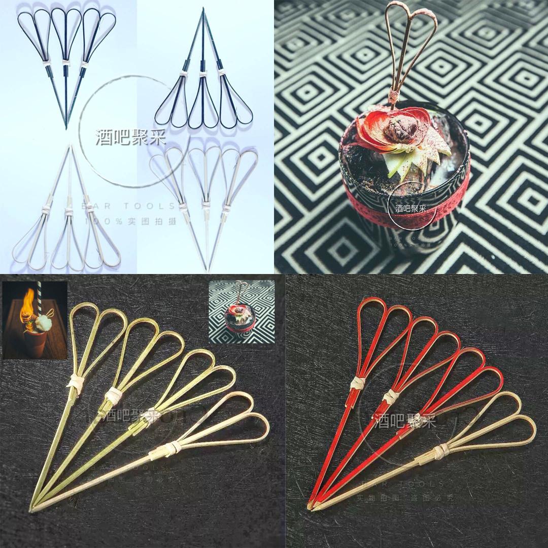 Бар собирать коллекция ножницы курица хвост ликер декоративный знак сердце курица хвост ликер знак бамбук знак курица хвост ликер знак 100 филиал