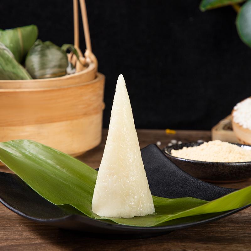 White rice dumplings pure glutinous rice dumplings made by farmers in Lichuan, Enshi, Hubei Province