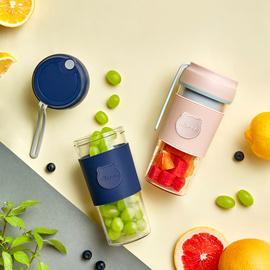 小熊榨汁机小型电动便携式多功能家用迷你榨汁杯学生宿舍炸果汁机