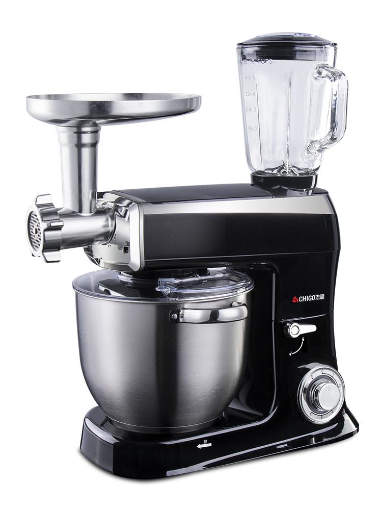 志高 和面机大容量电动厨师机家用多功能台式打蛋器奶油商用揉面