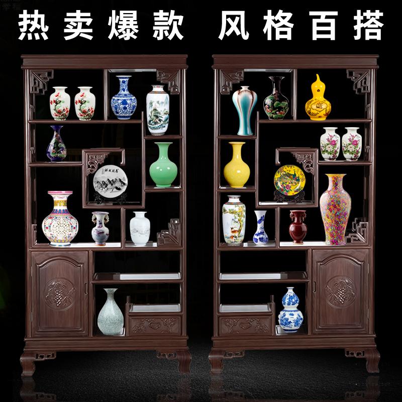 景德镇陶瓷器青花瓷插花花瓶家居办公室装饰品摆件客厅小工艺品b9 - 封面