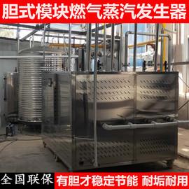 大型商用胆式模块燃气蒸汽发生器蒸汽机洗涤酿酒煮豆浆节能锅炉