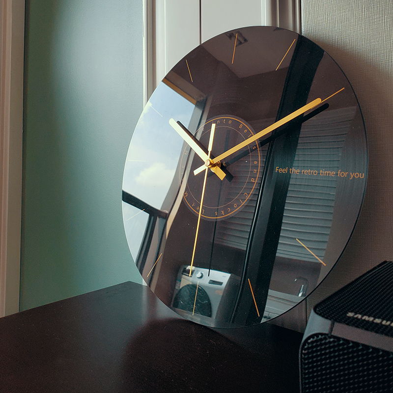 静音挂钟客厅石英钟表家用时钟创意时尚现代简约大气艺术轻奢北欧