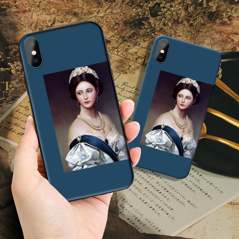 法式vivo苹果华为小米8/cc9e美术生的oppoa9复古网红女生款手机壳五折促销