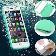 Silicone Waterproof TPU Cases for iPhone 6 Case 6s Plus
