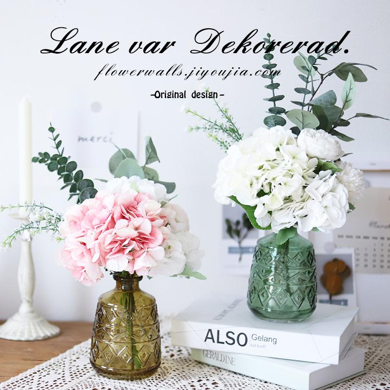 客厅摆件ins北欧小清新家居装饰花(用4.7元券)