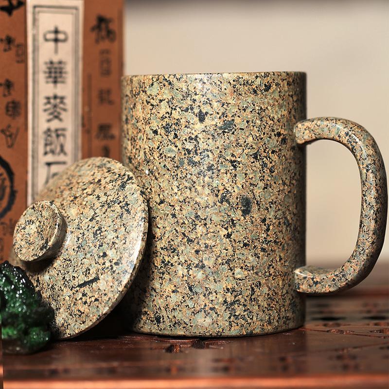 11月09日最新优惠内蒙中华麦饭石个性定制带盖马克杯
