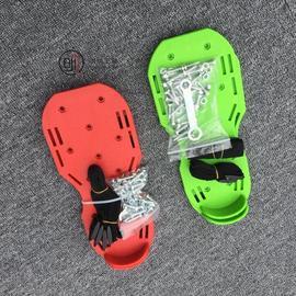 兔帝钉鞋自流平水泥施工工具钉鞋环氧施工pvc塑胶地板地坪明牌