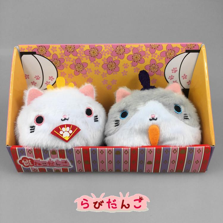 正版日本新款靴下猫炒鸡可爱猫咪手掌沙包毛绒公仔玩偶玩具盒装