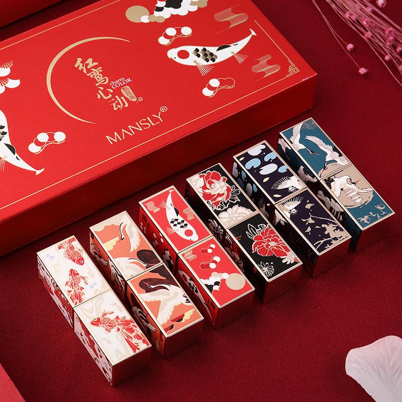 故宫女学生款平价小众品牌套装口红129.90元包邮
