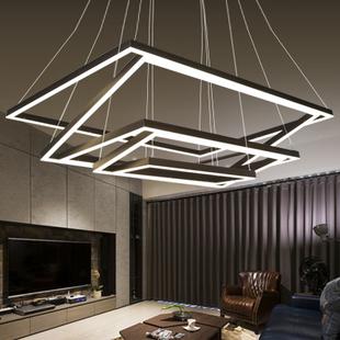 酒吧台客厅灯后现代吊灯简约个姓工业风吊灯loft创意办公灯具铁艺
