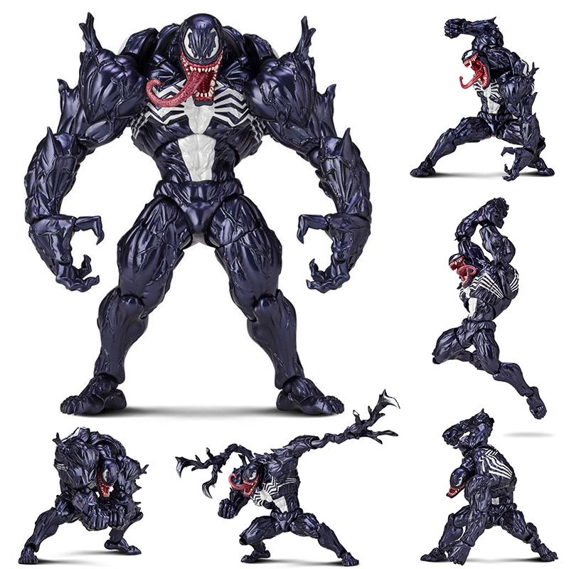 热卖毒液致命守护者手办模型玩具 蜘蛛侠毒液2屠杀关节可动人偶