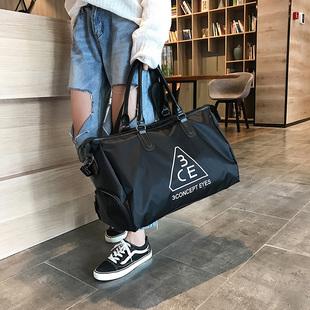 旅行包女大容量短途收纳袋子出差便携装 包包旅游手提行李包 衣服