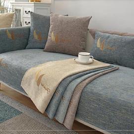 欧式水洗棉沙发套罩小型单个田园搭装饰布沙发垫组装滑大户型家用图片