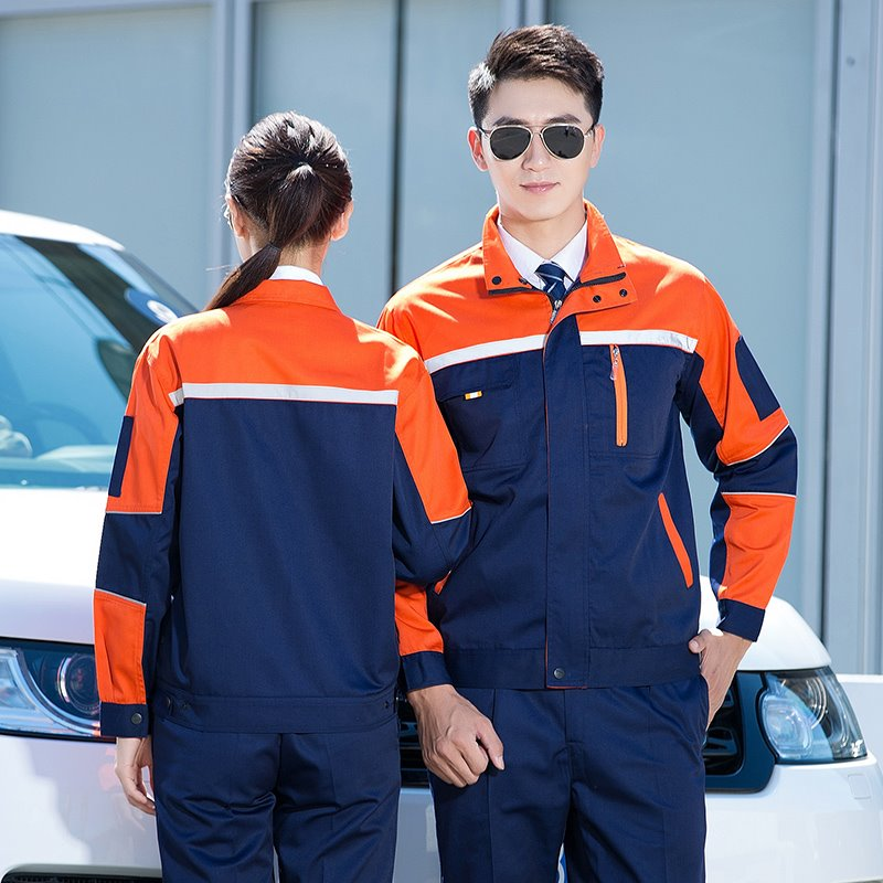 New autumn and winter engineering uniform auto club repair car washing tooling 4S shop clothing mechanical mold