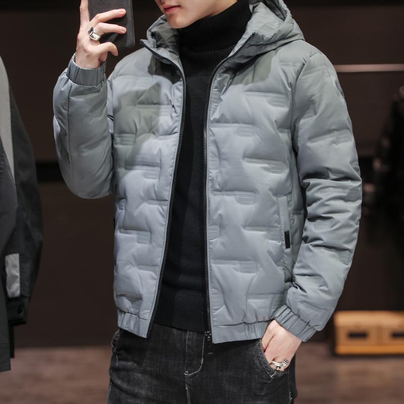NXL/羽绒棉服装男士外套秋冬季2020新款棉衣韩版潮流潮牌棉袄工装