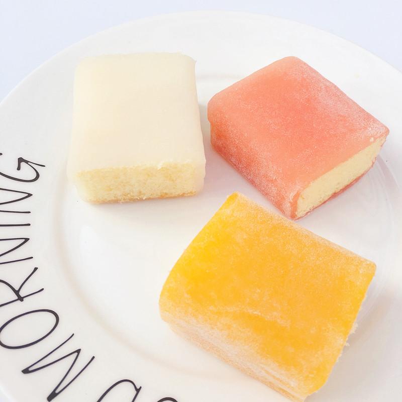 佳为 网红冰皮雪糯芝蛋糕480g 酸奶味口袋面包零食糕点包邮