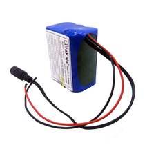 燃料鑫盛力V4AH4400mah18650锂电池组12V移动电源保护电路电池