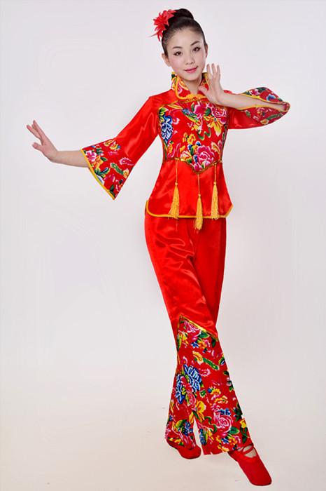 广场舞服装秋冬新款套装舞蹈服中老年人跳舞服装女装演出服秧歌服