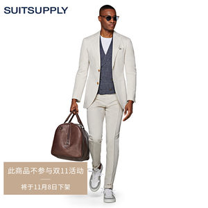 suitsupply- brentwood沙砾色长裤