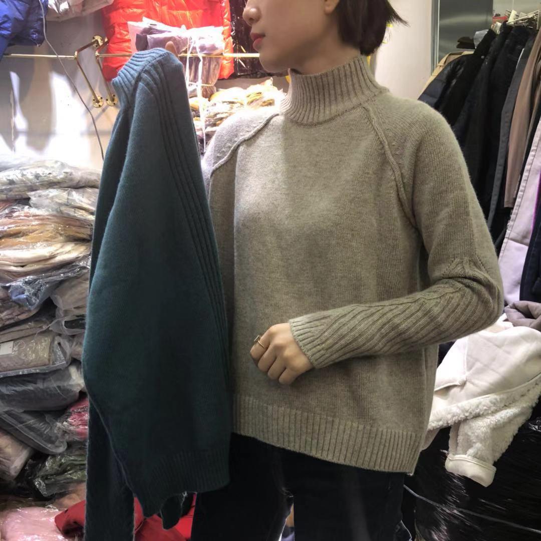 【秋款大上新】2019秋款精品高端货加厚羊绒毛衣 SH2F136-WQL8030