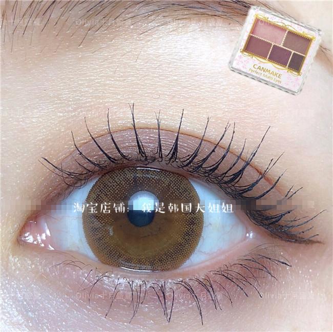 新款 现货日本CANMAKE哑光五色眼影 脏粉04号/03勃艮第 超美推荐