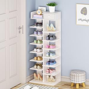 多层鞋架简易家用经济型小型迷你鞋柜宿舍门口大容量置物架省空间