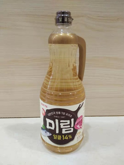 Lotte Weilin cooking wine imported from South Korea 1.8L