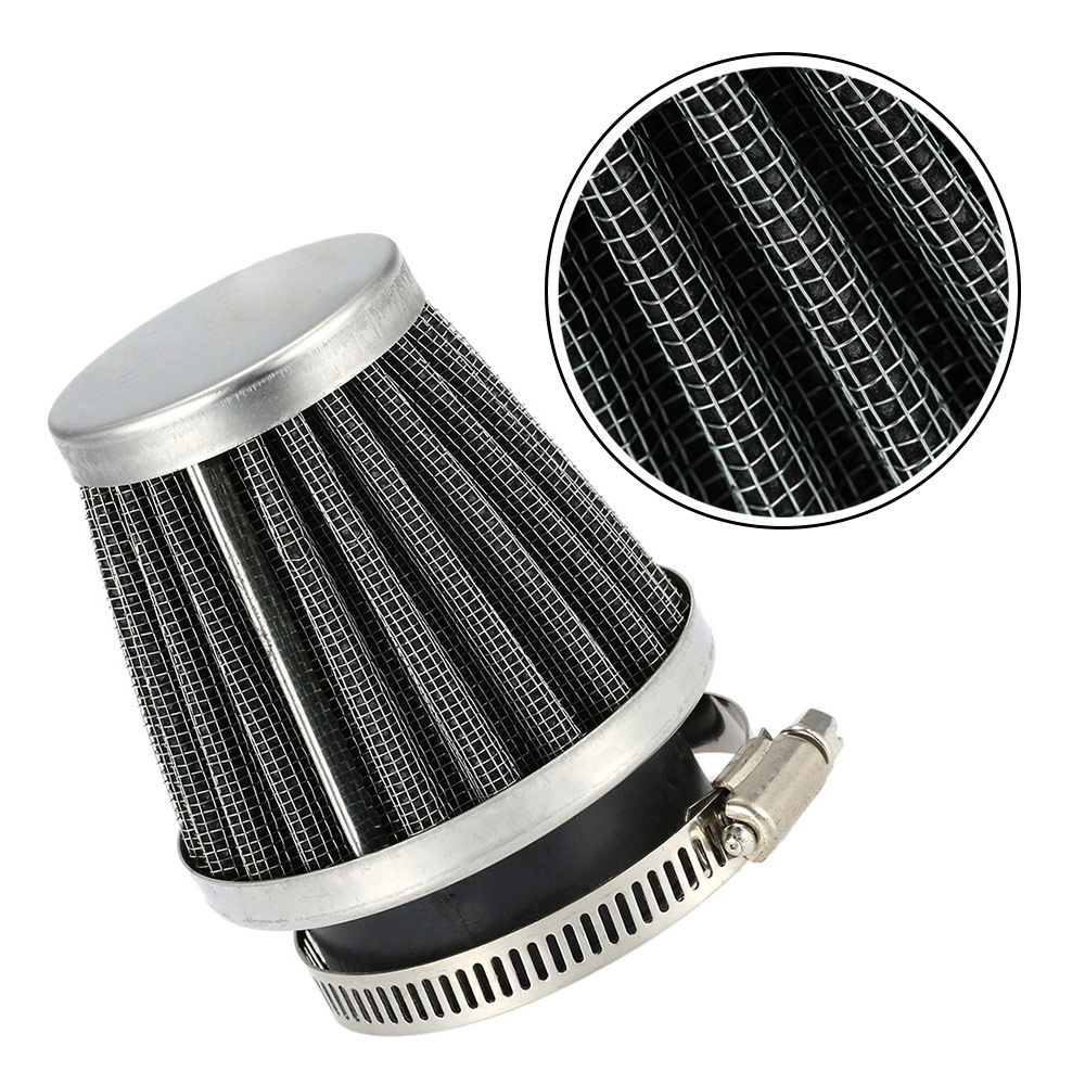 Hot New Double Layer Steel Filter Gauze Clamp-on Air Filter