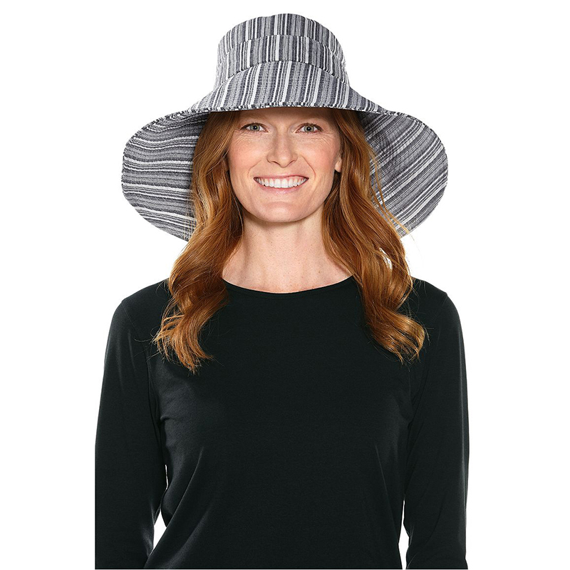U.S. Coolibar hat eaves Beach Hat sunscreen cap anti-ultraviolet UPF50 + 02356