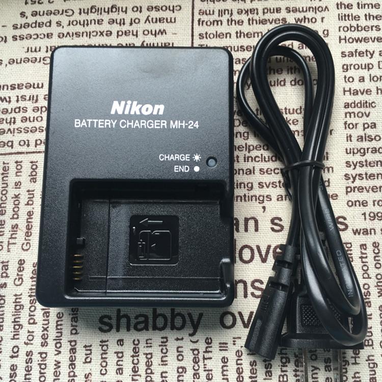 尼康单反D3400 D5600 P7700 P7000 P7800相机EL14电池充电器MH-24