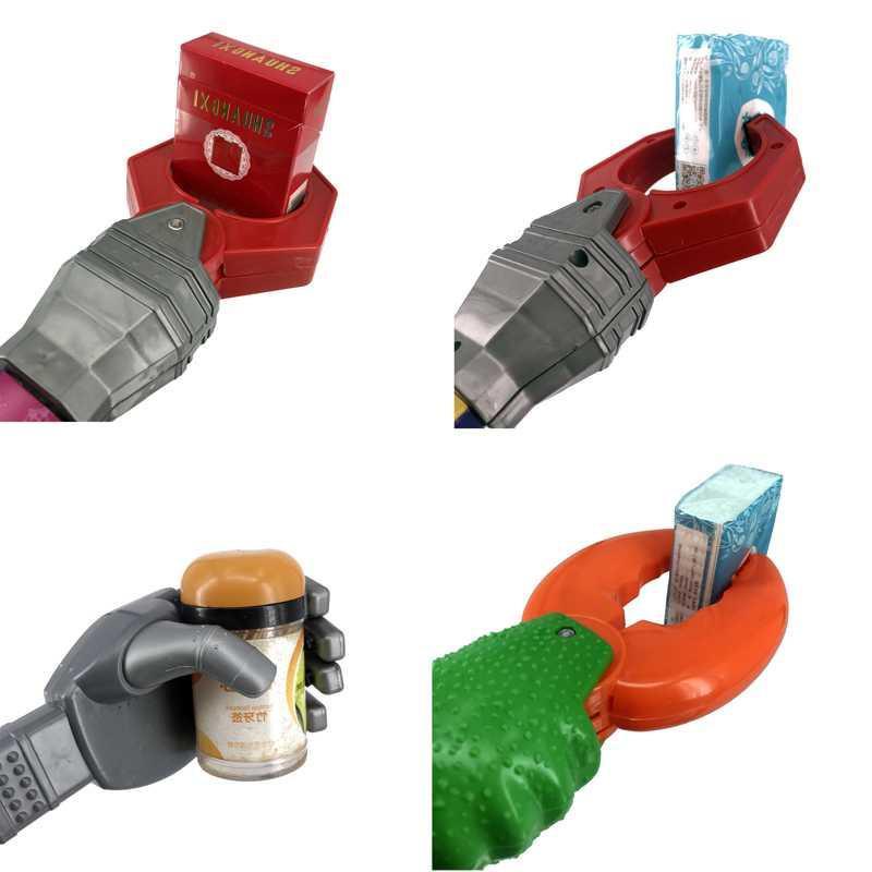 热卖的机器手臂玩具机械手儿童玩具夹子钳子整趣味取卡拉铲手钳