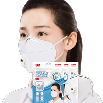 3M Mask dust-proof winter warm mask anti-industrial dust comfortable breathable anti-haze mask male and female KN90