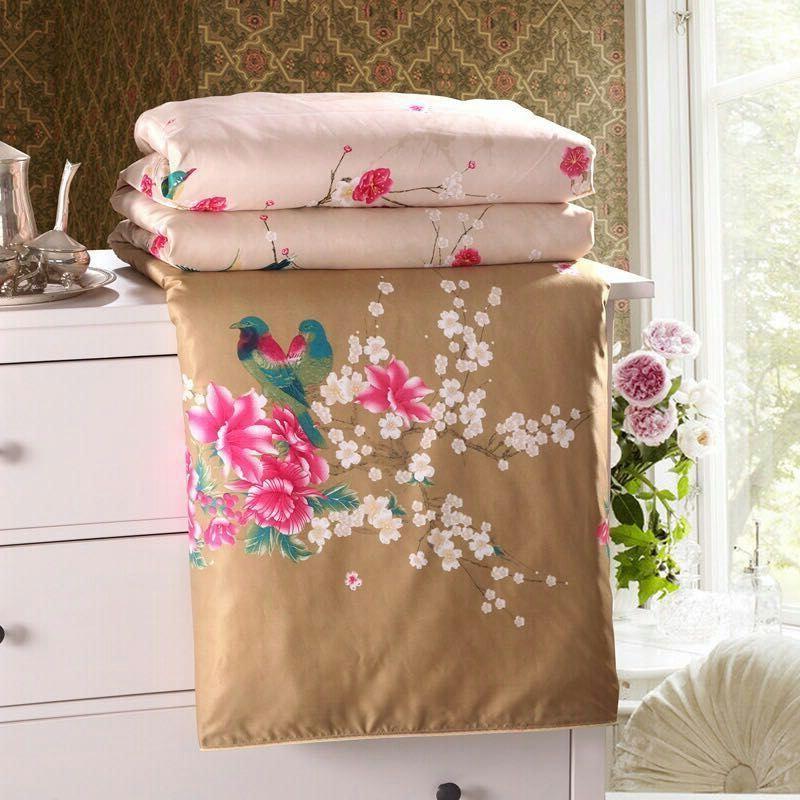 【品牌清仓】蚕丝被100%桑丝棉空调被冬季秋夏凉被送礼品床上用品