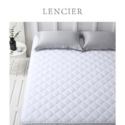 Lencier effective anti dirt and anti-skid m washable pure cotton cotton 5 fitted sheet single piece mattress cover protection