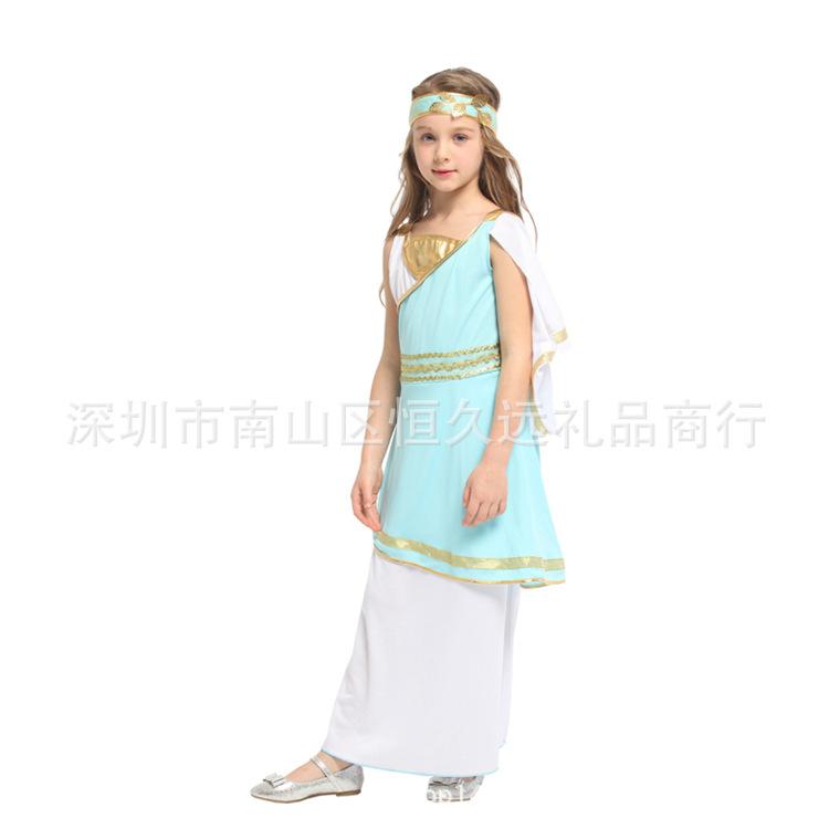 女性のコスプレ衣装アテナのお姫様服化粧舞踏会のコスプレ衣装ハロウィン六一子供