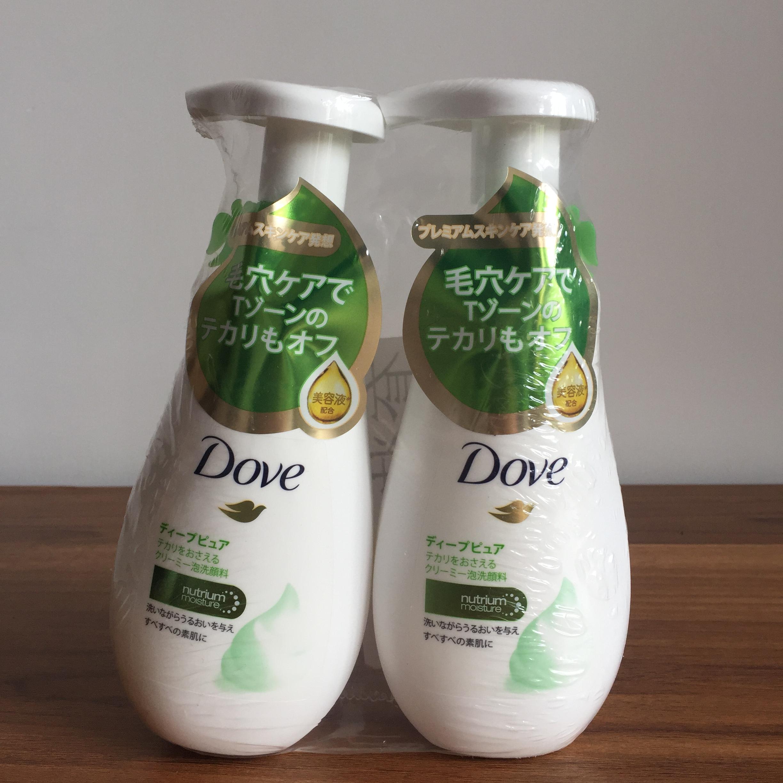 Dove/多芬多芬氨基酸洁面泡沫慕斯洗面奶洁面乳160ml*2补水去角质