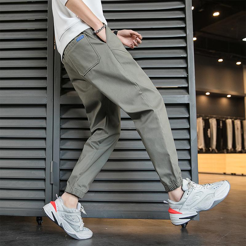 男士休闲裤春秋季长裤束脚裤运动裤男裤子