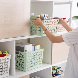 家居收纳筐抽屉收纳箱其他收纳篮塑料收纳篮橱书柜零食桌面收纳盒价格