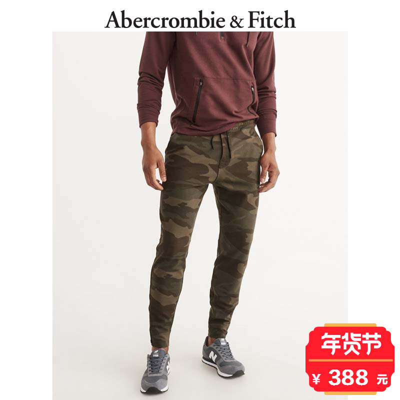 Winter Special Offer Abercrombie & Fitch men's casual pants 170186 AF vitality jogging