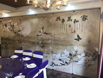 Event partition Hotel partition wall Hanging screen restaurant room hotel revolving door folding door wall plate